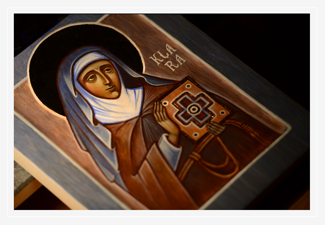 Betlejewska_icon_Saint Clare of Assisi